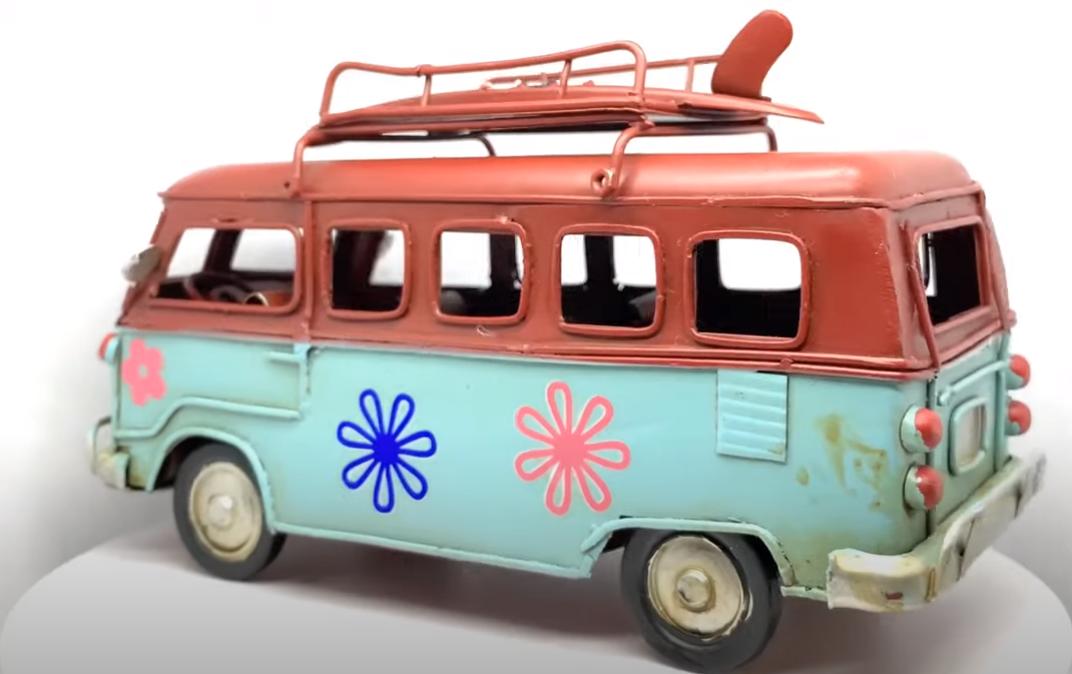 360° προβολή προϊόντων -λεωφορείο